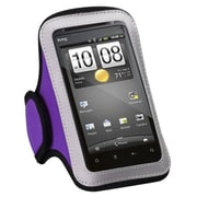 Insten® Vertical Pouch Universal Sport Armband For ZTE X500/N850/V768, Purple