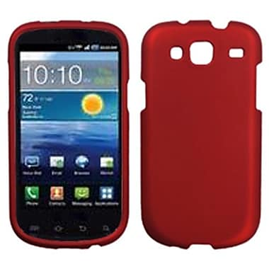 Insten® Phone Protector Cover For Samsung I425 (Galaxy Stratosphere III), Titanium Solid Red