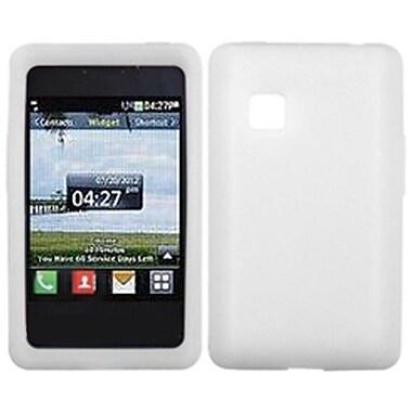 Insten® Skin Case For LG 840G, Solid Translucent White