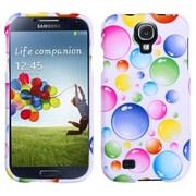 Insten® Phone Protector Case For Samsung Galaxy S4, Rainbow Bigger Bubbles
