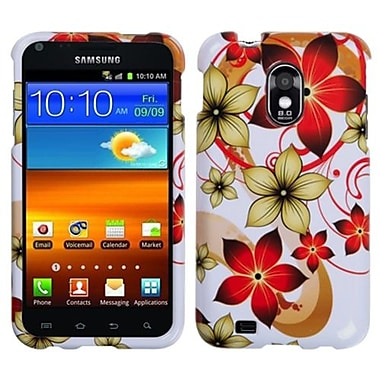 Insten® Phone Protector Cover For Samsung D710, R760, Galaxy S II 4G, Hibiscus Flower Romance