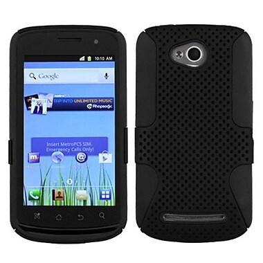 Insten® Protector Case For Coolpad 5860E Quattro 4G, Black/Black Astronoot