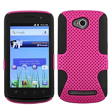 Insten® Protector Case For Coolpad 5860E Quattro 4G, Hot-Pink/Black Astronoot
