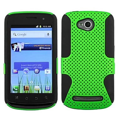 Insten® Protector Case For Coolpad 5860E Quattro 4G, Green/Black Astronoot