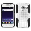 Insten® Astronoot Phone Protector Cover For Samsung R820 Galaxy Admire 4G, White/Black