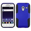 Insten® Astronoot Phone Protector Cover For Samsung R820 Galaxy Admire 4G, Dark Blue/Black