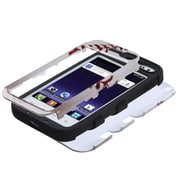 Insten® Hybrid Protector Cover For Samsung R820 Galaxy Admire 4G, Baseball Black