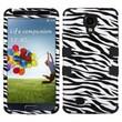 Insten® Hybrid Phone Protector Cover For Samsung Galaxy S4 i9500, Zebra Skin/Black