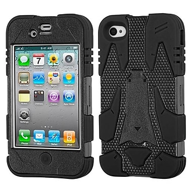 Insten® Cyborg Hybrid Phone Protector Covers F/iPhone 4/4S