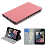 Insten® Premium MyJacket For Google Nexus 7, Pink