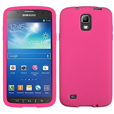 Insten® Solid Skin Case Cover For Samsung i537 (Galaxy S4 Active), Hot-Pink
