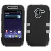 Insten® TUFF Hybrid Protector Cover For ZTE-N9120 Avid 4G, Black/Gray
