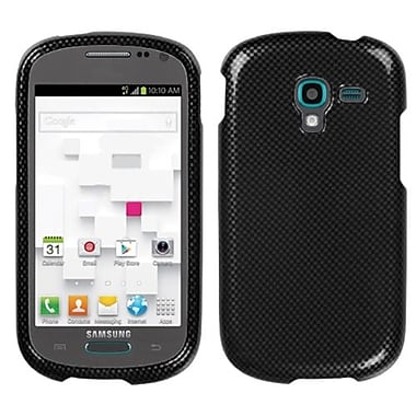 Insten® Phone Protector Cover For Samsung T599 Galaxy Exhibit, Carbon Fiber
