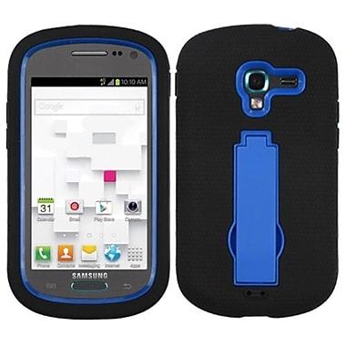 Insten® Symbiosis Stand Protector Case For Samsung T599 Galaxy Exhibit, Dark Blue/Black