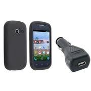 Insten® 1249368 2-Piece Car Charger Bundle For Samsung Galaxy Centura S738C