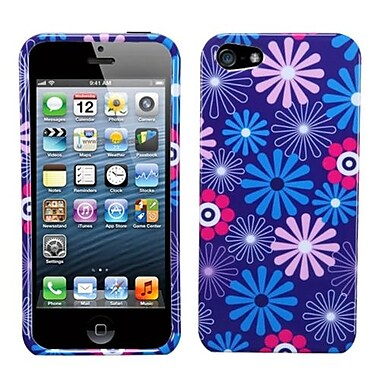 Insten® Phone Protector Cover F/iPhone 5/5S, Flower Fireworks