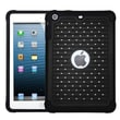 Insten® Luxurious Lattice Dazzling TotalDefense Protector Cover F/iPad Mini/iPad Mini 2, Black/Black