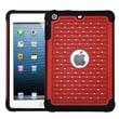 Insten® Luxurious Lattice Dazzling TotalDefense Protector Cover F/iPad Mini/iPad Mini 2, Red/Black