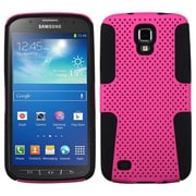 Insten® Astronoot Phone Protector Cover For Samsung i537 (Galaxy S4 Active), Hot-Pink/Black