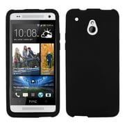 Insten® Skin Cover For HTC M4, Solid Black