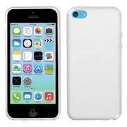Insten® Rubberized Candy Skin Cover F/iPhone 5 Lite, Semi Transparent White