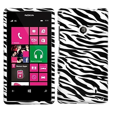 Insten® Phone Protector Cover For Nokia 521, Zebra Skin