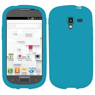 Insten® Solid Skin Cover For Samsung T599 Galaxy Exhibit, Tropical Teal