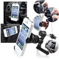 Insten® 1290807 2-Piece iPhone Mount Bundle For Cell Phone, PDA, GPS, MP3, MP4