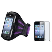 Insten® 1302813 2-Piece MP3 Armband Bundle For Apple iPod Touch 2nd/3rd Gen/Apple iPod Touch 4th Gen