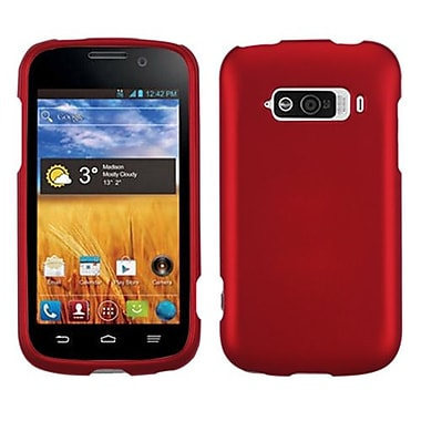 Insten® Protector Case For ZTE N9101 Imperial, Titanium Solid Red