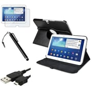 "Insten® 1309845 4-Piece Tablet Cable Bundle For 10.1"" Samsung Galaxy Tab 3, BlackBerry/LG/Motorola"