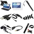 Insten® 1309849 9-Piece Tablet Car Charger Bundle For 10.1in. Samsung Galaxy Tab 3