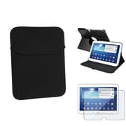 "Insten® 1309898 3-Piece Tablet Case Bundle For 10.1"" Samsung Galaxy Tab 3"