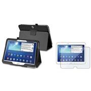 "Insten® 1313663 2-Piece Tablet Case Bundle For 10.1"" Samsung Galaxy Tab 3"
