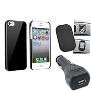 Insten® 1328614 3-Piece iPhone Car Charger Bundle For Apple iPhone 5/5S