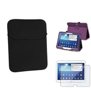 Insten® 1331978 3-Piece Tablet Case Bundle For 10.1 Samsung Galaxy Tab 3