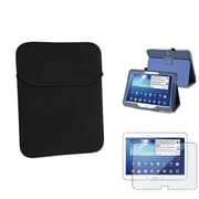 Insten® 1332131 3-Piece Tablet Case Bundle For 10.1 Samsung Galaxy Tab 3