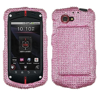 Insten® Diamante Protector Cover For CASIOC811 G'Zone Commando 4G, Pink
