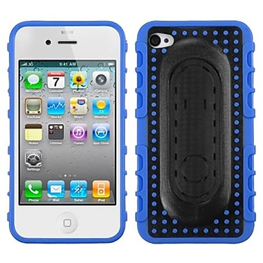 Insten® Protector Covers W/Snap Tail Stand F/iPhone 4/4S