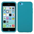 Insten® Solid Skin Cover For iPhone Light, Tropical Teal