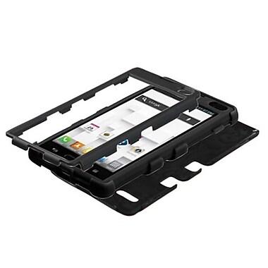 Insten® TUFF Hybrid Phone Protector Cases For LG P769