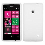 Insten® Skin Case For Nokia Lumia 521, Solid Translucent White