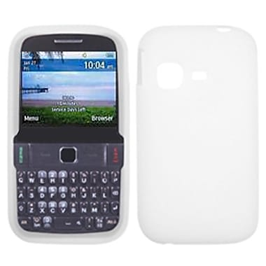 Insten® Solid Skin Cover For Samsung S390G/T189N (Freeform M), Translucent White