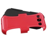 Insten® Fusion Protector Cover For Samsung Galaxy SIII, Natural Red/Black Frosted