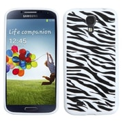 Insten® Argyle Candy Skin Cover For Samsung Galaxy S4, Zebra Skin