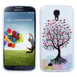 Insten® Argyle Candy Skin Cover For Samsung Galaxy S4, Love Tree