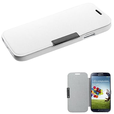 Insten® Premium Book-Style MyJacket Wallet For Samsung Galaxy S4, White