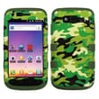 Insten® Hybrid Phone Protector Cover For Samsung T769 Galaxy S Blaze 4G, Green Camo/Army Green