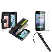 Insten® 1387987 3-Piece iPhone Case Bundle For Apple iPhone 5/5S/5C