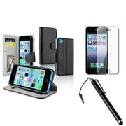 Insten® 1387988 3-Piece iPhone Case Bundle For Apple iPhone 5/5S/5C